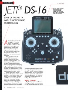 RCSF - Review Jeti DS-16 Part 1