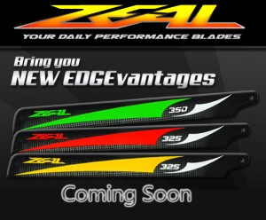 Zeal Blades Coming Soon