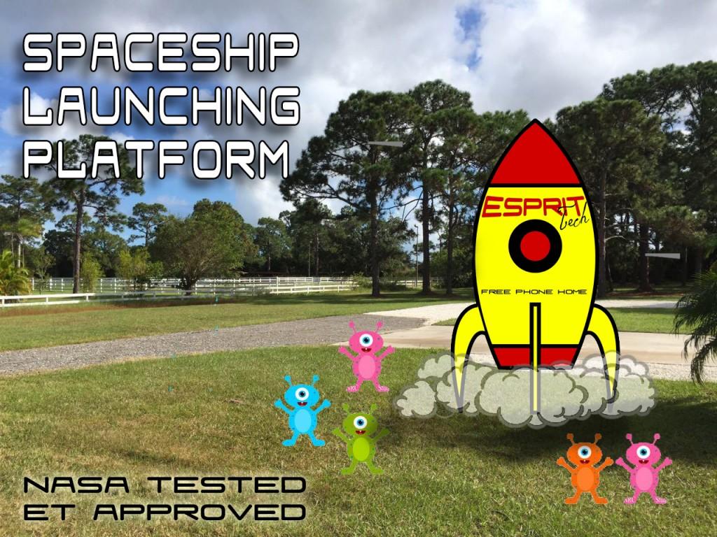 Spaceship Landing Platform