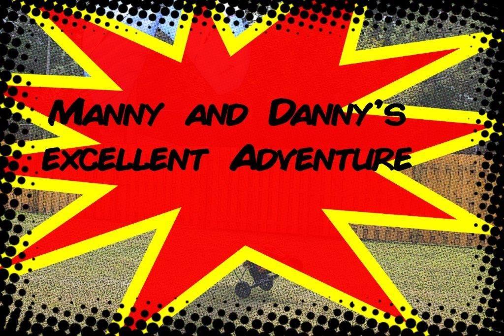Comic Strip Title Page