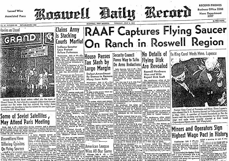 Rosswell Newspaper
