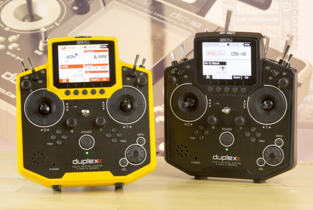 Introducing Jeti DS-12 Yellow & Black